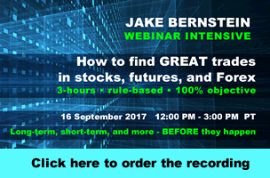 Jake Bernstein |  How to Find Great Trades - WEBINAR INTENSIVE