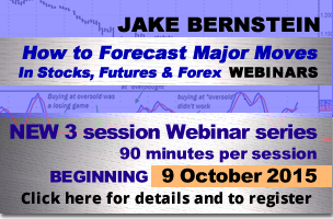 Jake Bernstein | How to Forecast Major Moves in Futures, Forex and Stocks