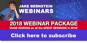 Jake Bernstein | 2018 Webinar Package